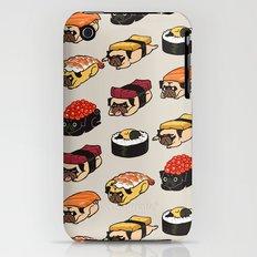 Sushi Pug iPhone (3g, 3gs) Slim Case