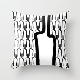 many drinks Throw Pillow