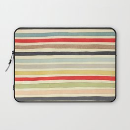 Stripes Watercolor Paint Robayre Laptop Sleeve
