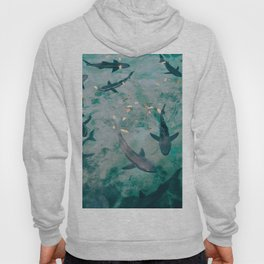 Shoal of Sharks (Color) Hoody