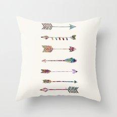 seven arrows Throw Pillow
