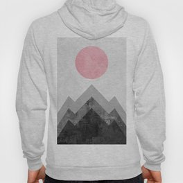 Landscape collage marble XVI Hoody