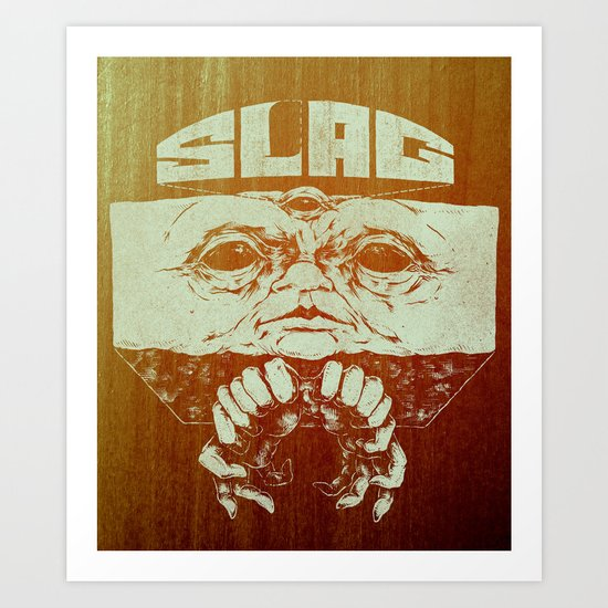 Slag Box Art Print