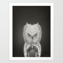 I am Your Guardian Art Print
