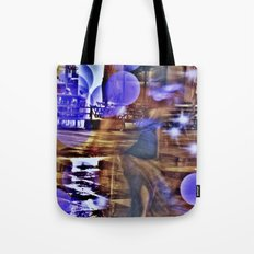 Empty cage girl Tote Bag
