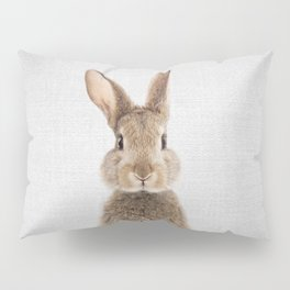 Rabbit - Colorful Pillow Sham