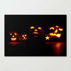 Jackolanterns Canvas Print