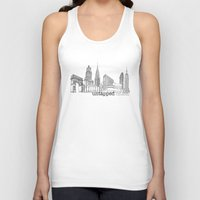 cities Tank Tops featuring Untapped Cities by Untapped Cities