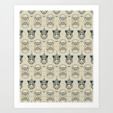 Eastern Masonic Art Print