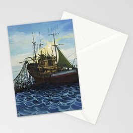 Fishing 5 Stationery Cards