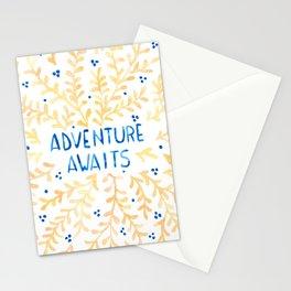 Adventure Awaits Stationery Cards