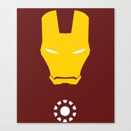 Iron Man Minimalist Canvas Print