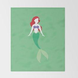 Ariel from The Little Mermaid Disney Princess Throw Blanket