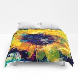Sunflower Batik Comforters