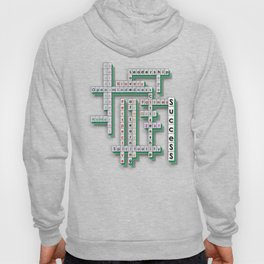 Cross Word Puzzle of Success Hoody