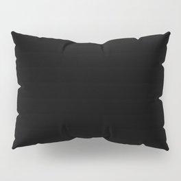 Black Minimalist Pillow Sham