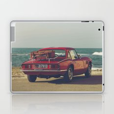 Red Supercar, classic car, triumph, spitfire, color photo, interior design, old car, auto Laptop & iPad Skin
