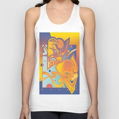 Theatre Masks Unisex Tank Top