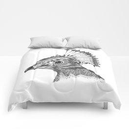A peacock head Comforters