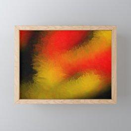 Midnight Bright Abstract Framed Mini Art Print