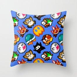 Super Mario World   Enemies Pattern Deko-Kissen