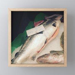 I'll have the fish Framed Mini Art Print