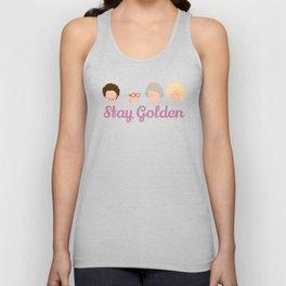 Stay Golden  (Golden Girls Inspired) Unisex Tank Top