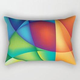 Wild Circles Rectangular Pillow