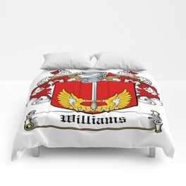 Family Crest - Williams - Coat of Arms Comforters