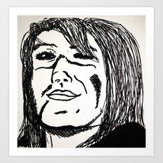 Smug  Art Print