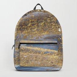 Watercolor Human Impact, Trash 19, Plastic Backpack