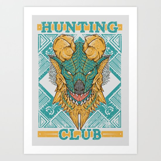 Hunting Club: Jinouga Art Print