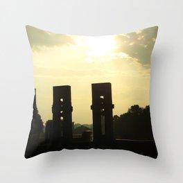 Sunset Memorial Throw Pillow