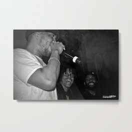 Live from New Jet City: Curren$y, Lupe Fiasco & Mickey Factz Metal Print