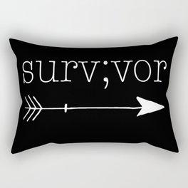 Survivor Rectangular Pillow