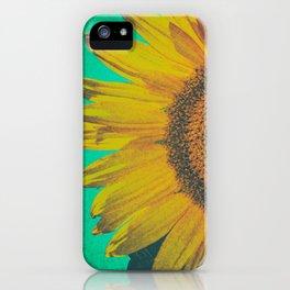 Sunflower vintage iPhone Case