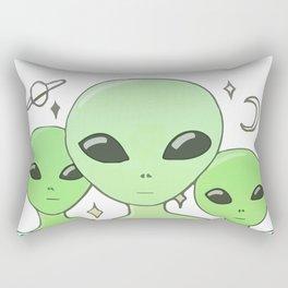 Ugh humans Rectangular Pillow