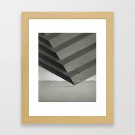 Sectioned Cube Framed Art Print