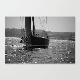 Sailing Majestically Canvas Print