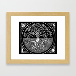 Druid Tree of Life Framed Art Print
