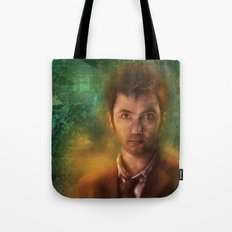 10th Doctor David Tennant Tote Bag