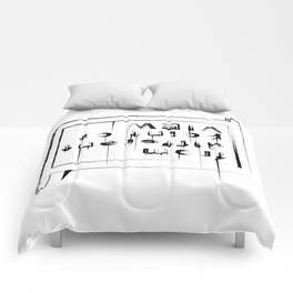 Statement shirt - Different point of view Comforters
