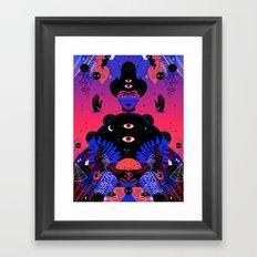 Noche Tropical  de Frida Framed Art Print