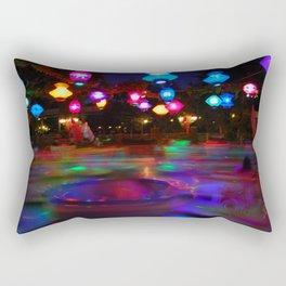 Teacups Blur at Night Rectangular Pillow