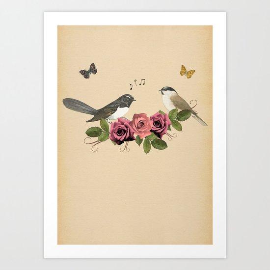 Song Bird 5 Art Print