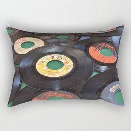 45 Records Rectangular Pillow