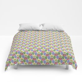 Clam Shell Flowers Comforters