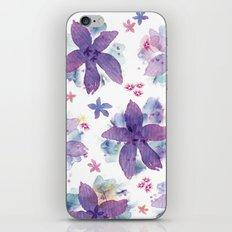 Flower bared iPhone & iPod Skin