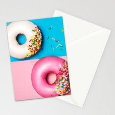 Donut wall Stationery Cards