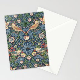 Strawberry Thief - Vintage William Morris Bird Pattern Stationery Cards